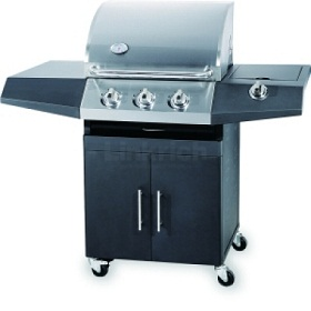 3-Burner BBQ With cabinet