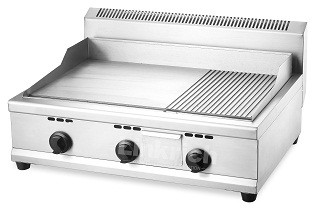 Standing Gas Grill